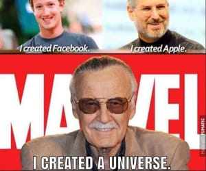 Marvel and stan lee image
