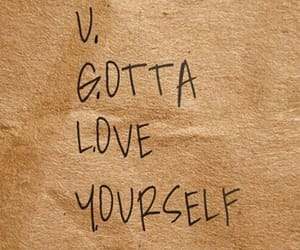 quotes, tumblr, and love yourself image