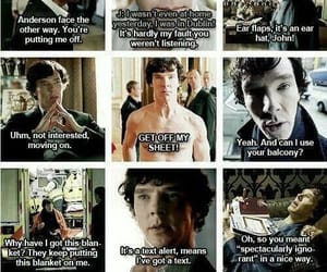 funny, best lines, and sherlock image