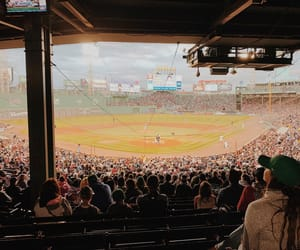 baseball, fenway park, and photography image