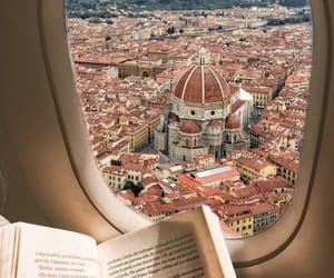 travel, italy, and book image