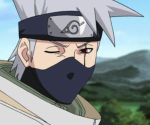 anime, kakashi, and naruto image