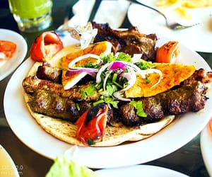 delicious, meat, and food image