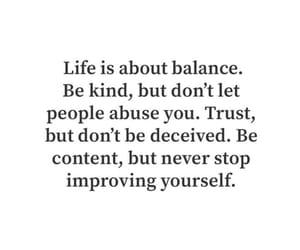 abuse, balance, and kind image