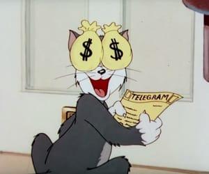 cartoon, meme, and money image