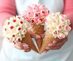 sweet, delicious, and flowers image