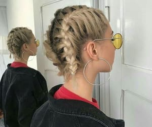 aesthetic, hairstyle, and woman image