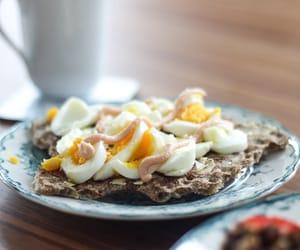 breakfast, crackers, and sweden image