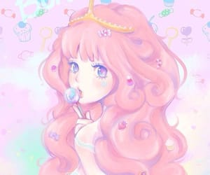 anime, pink, and pretty image
