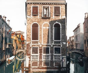 architecture, gondola, and italy image