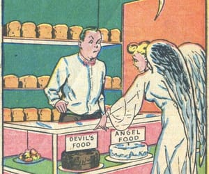 angel, comic, and vintage image