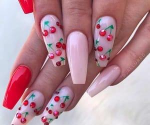nails, spring, and summer image