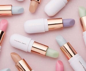 beauty, cosmetics, and pastel image