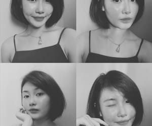 asian, dimple, and fashion image