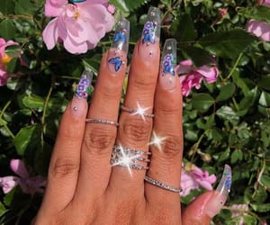 nails, rings, and on fleek image