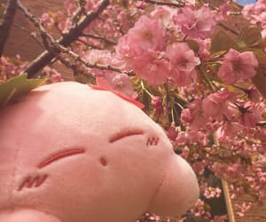 cherry blossom, nintendo, and plush image