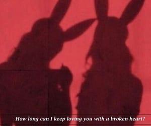 broken, heart, and how image