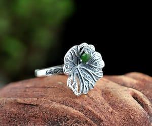etsy, boho rings, and wedding ring image