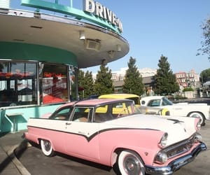 car, retro, and vintage image