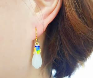 birthday party, birthday present, and star earrings image