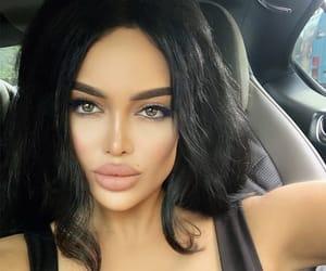 beautiful girl, makeup, and sexy image