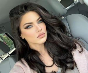 beautiful girl, brunette, and fashion image