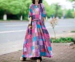 etsy, maxi dress, and oversize dress image