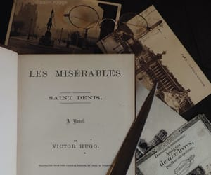 books, bookworm, and les miserables image