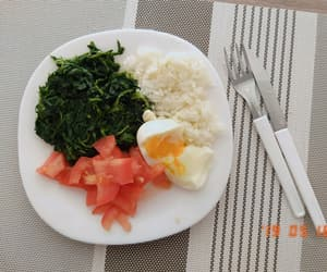 fitness, healthy, and lunch image