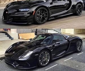 black, cars, and high speed image