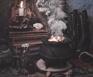 black, Halloween, and candle image