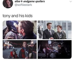 tony stark and avengers:endgame image