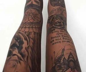 beautiful, tattoo, and girl image