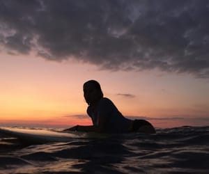 dreamy, Philippines, and sunset image