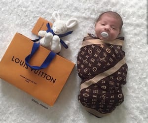 baby, Louis Vuitton, and cute image