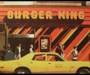 vintage, burger king, and 70s image