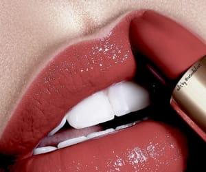 lipstick, lips, and girl image
