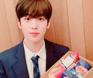 aesthetic, produce x 101, and blue image