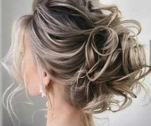 blonde hair, salon, and we heart it image