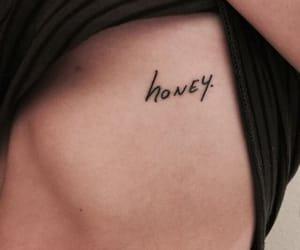 tattoo, honey, and aesthetic image