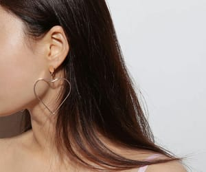 clean, woman, and earrings image