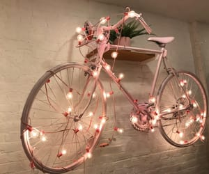 light, bicycle, and bike image