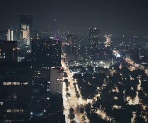 city, night, and places image