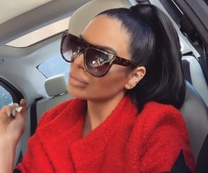 goal goals life, red rouge black, and hairstyle ponytail image