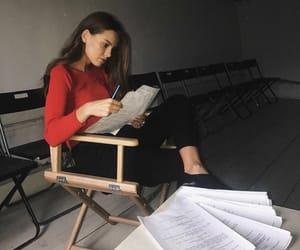 book, boss, and homework image