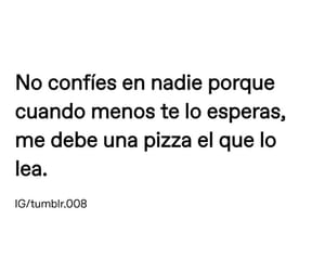 frases, memes, and pizza image