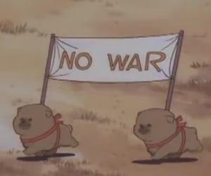 no war, dog, and puppy image