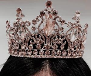 crown, gold, and princess image