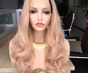 lace front and ash pink image