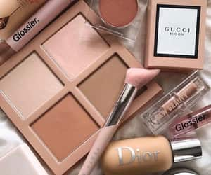 makeup, dior, and gucci image
